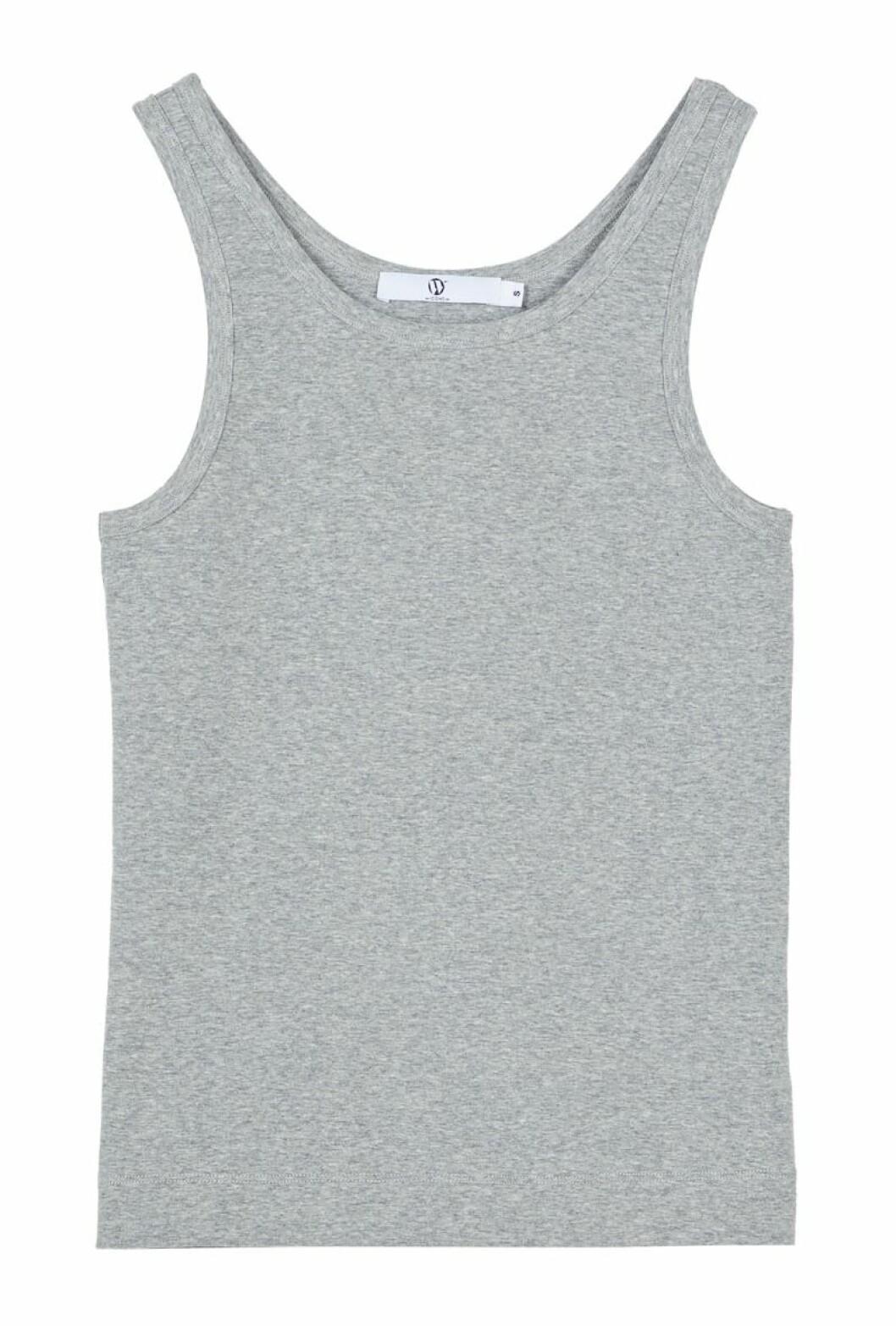 Ljusgrått linne i stilren modell