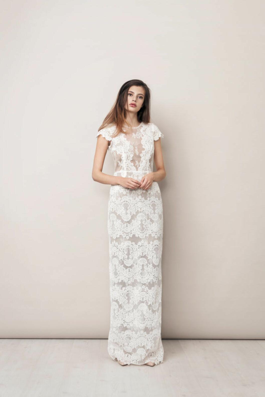 Ida Sjöstedt spetsklänning bröllop