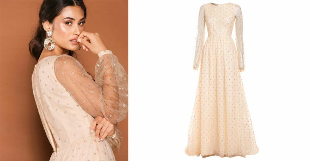 Ida Lanto samarbetar med Nelly, här är klänningen Aurore