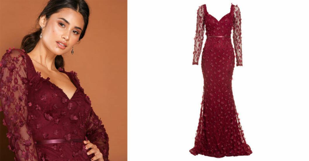Ida Lanto x Nelly med klänningen Flora