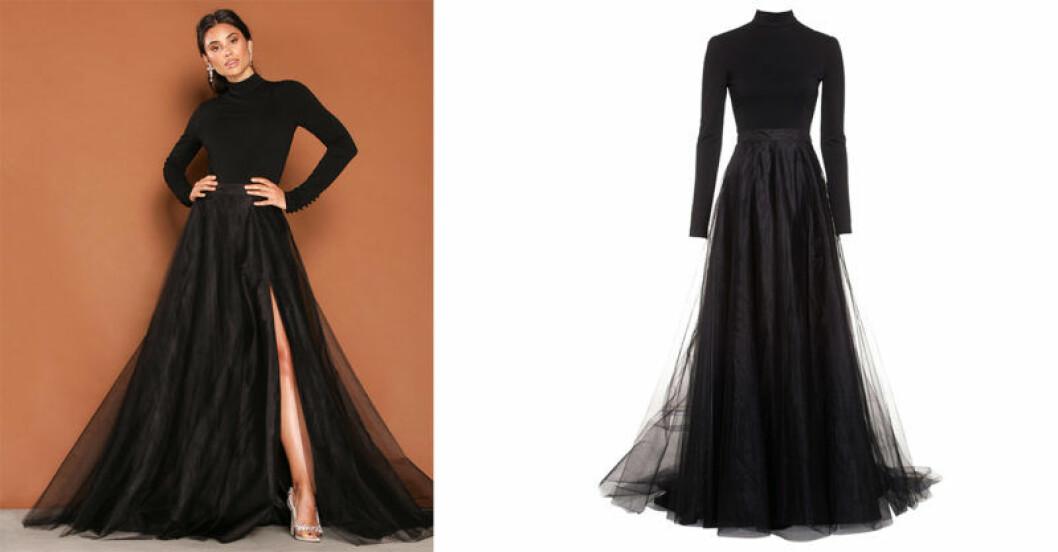 Tvådelade klänning, modell Lilou