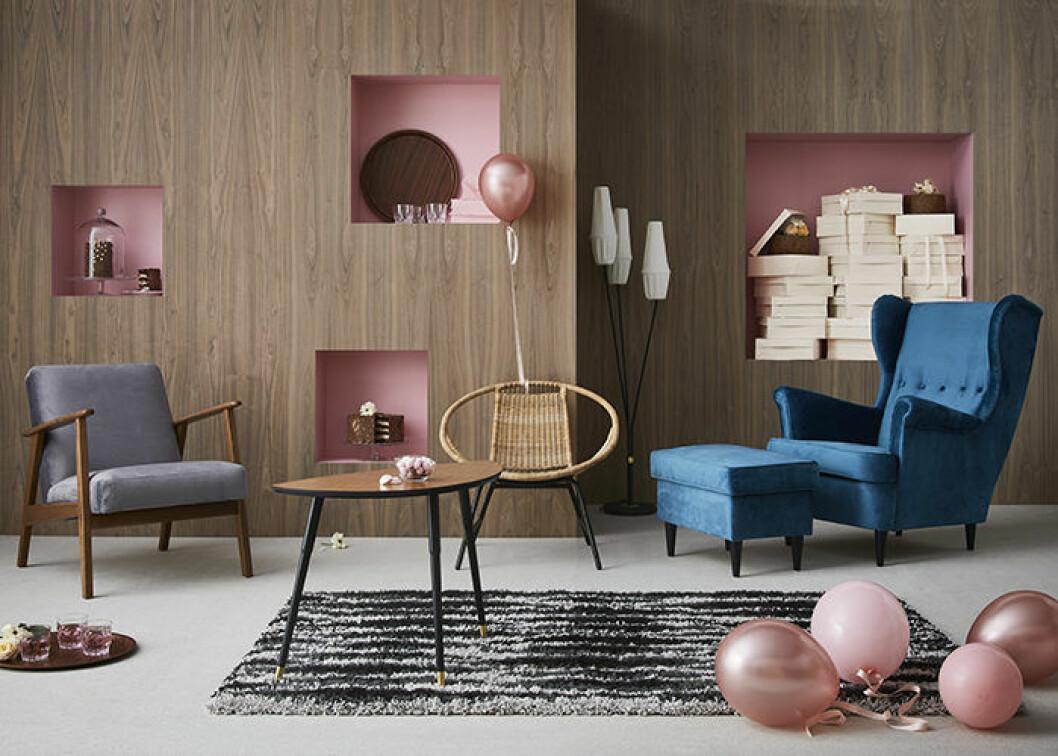 Ikea släpper kollektion inspirerad av 50- och 60-tal