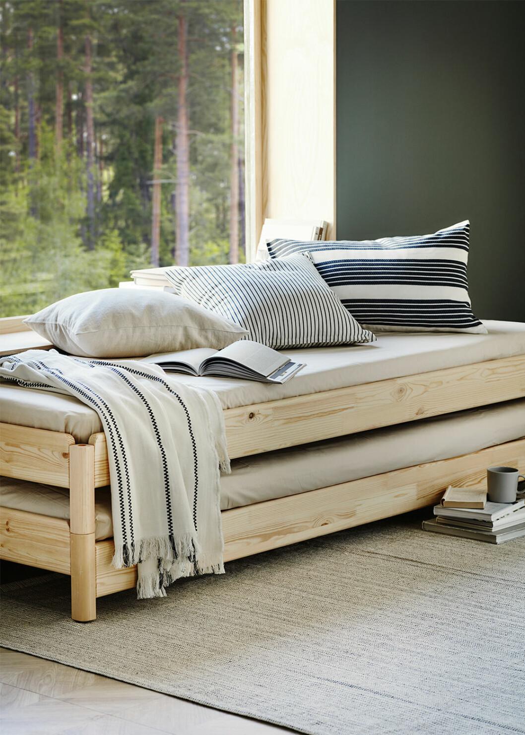Tiphede matta i återvunnen bomull från Ikea