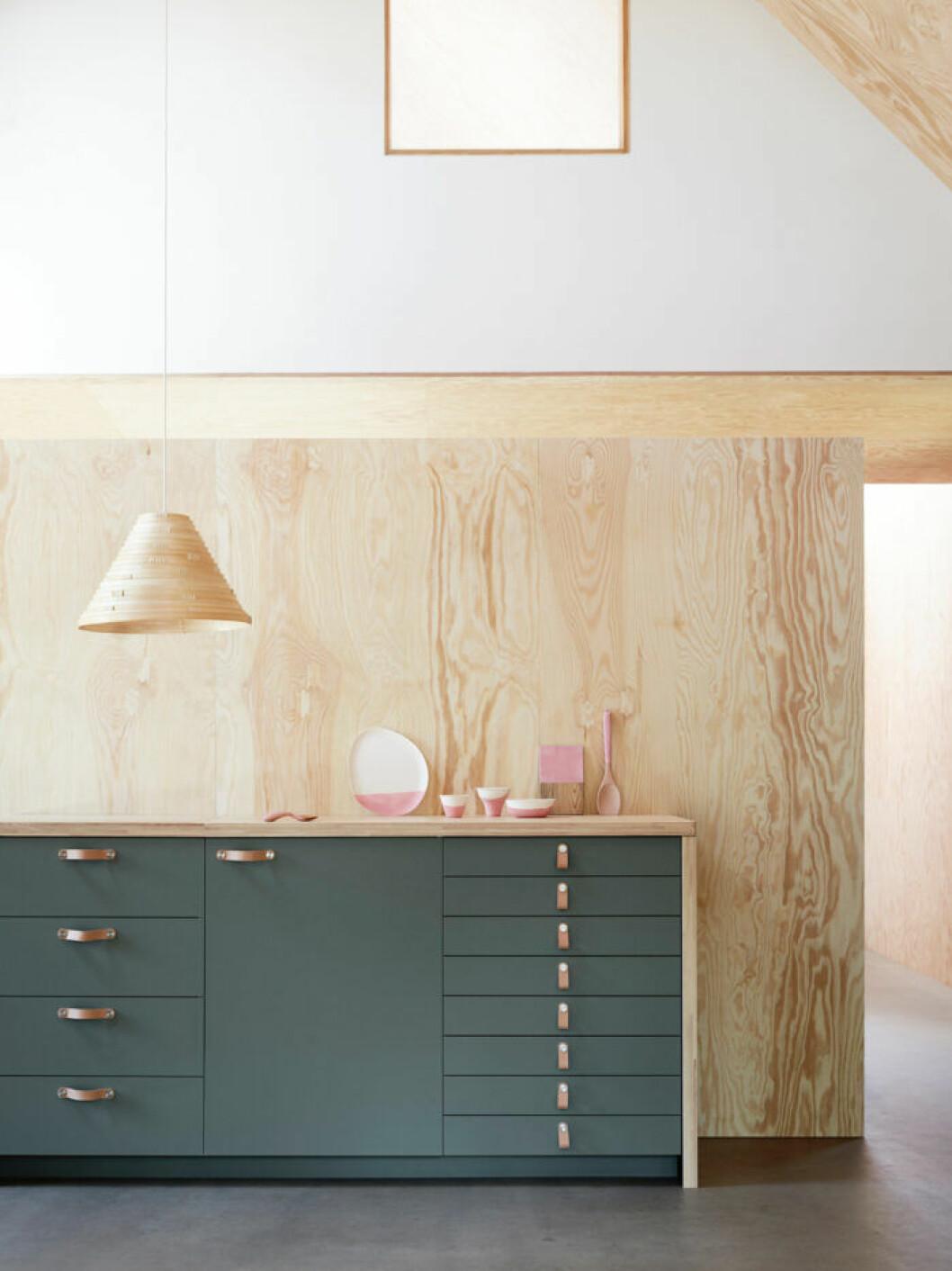 Ikea Bodarp grönt kök