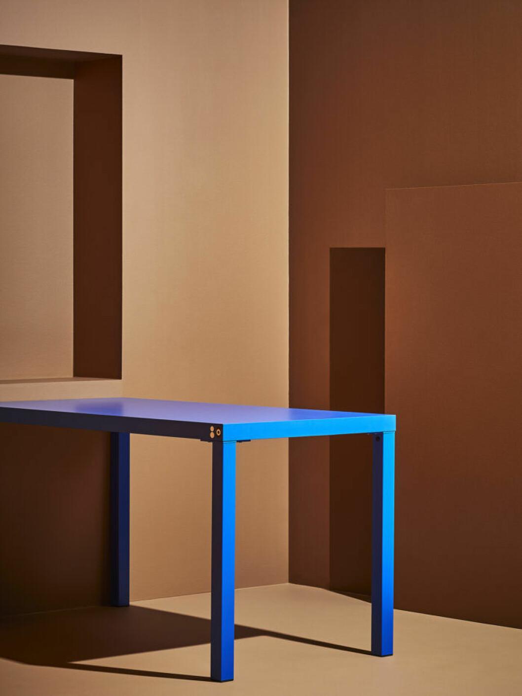 Bord i design av Craig Redman och Sarah Andelman för Ikea Förnyad.