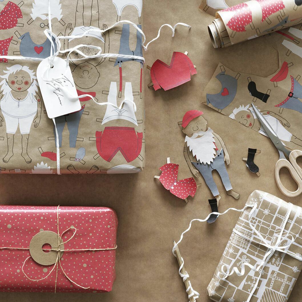 Kreativ paketinslagning och DIY-pyssel från Ikea