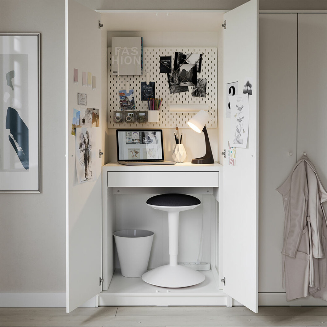 compact living hemmakontor från ikea