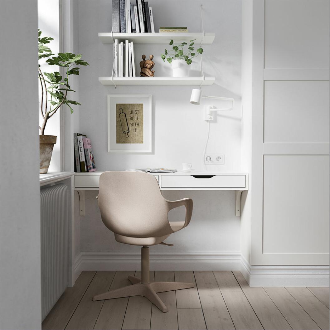 smart hemmakontor som tar lite plats