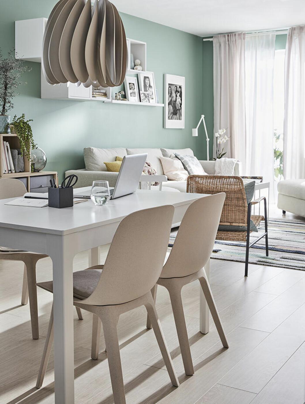 Inspirerande inredning i Ikea katalogen 2019