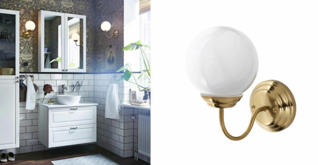 Lillholmen badrumslampa