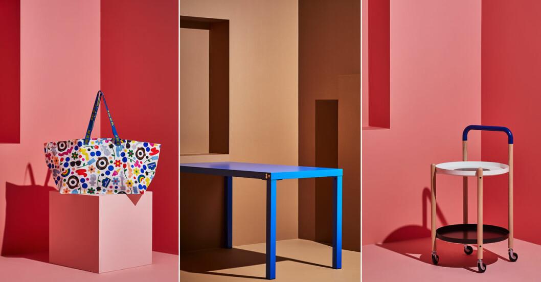 Ikea släpper limiterad kollektion med mode- och konstprofiler