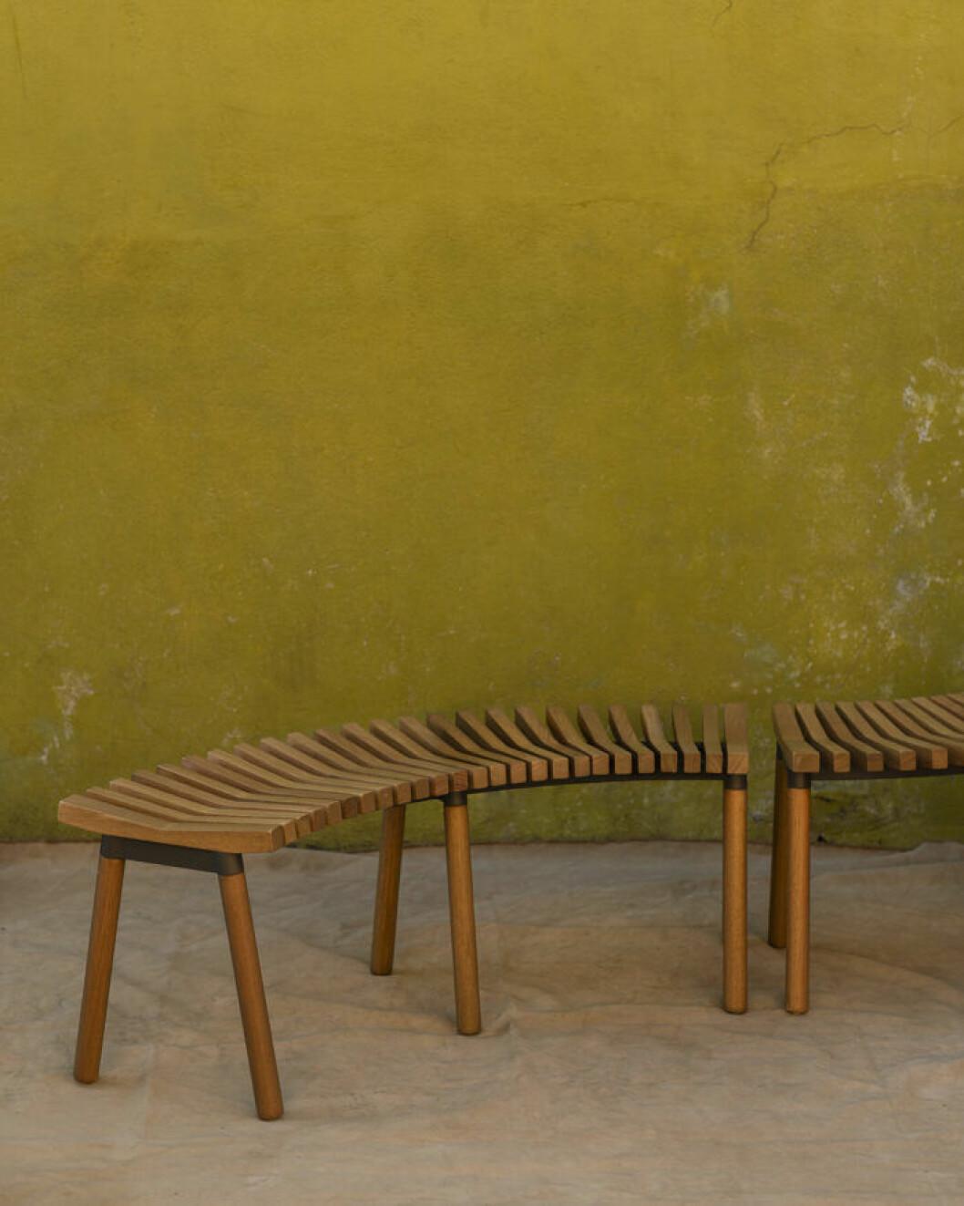 Bänk från Ikeas nya kollektion Överallt