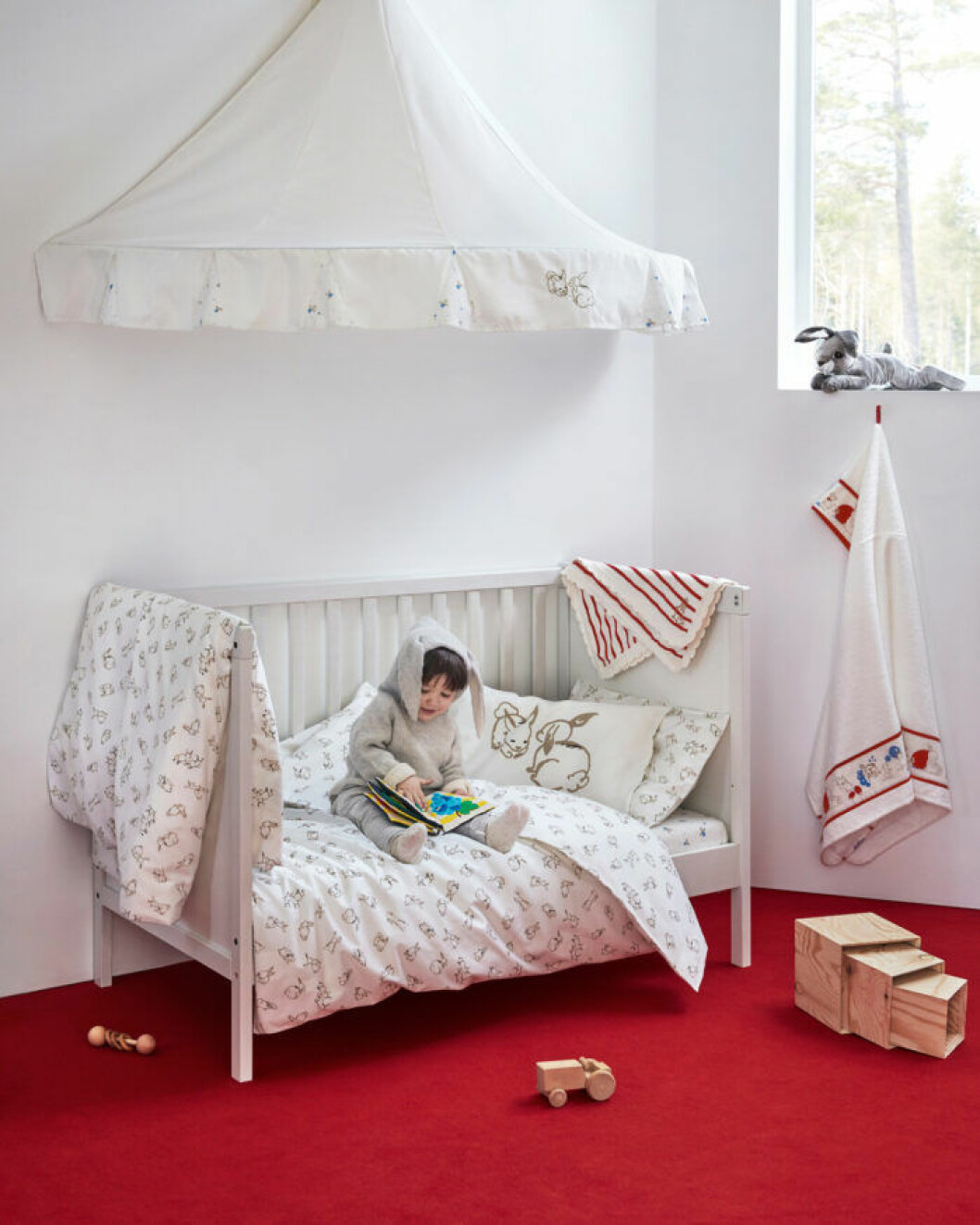 Ikea Rödhake barnserie