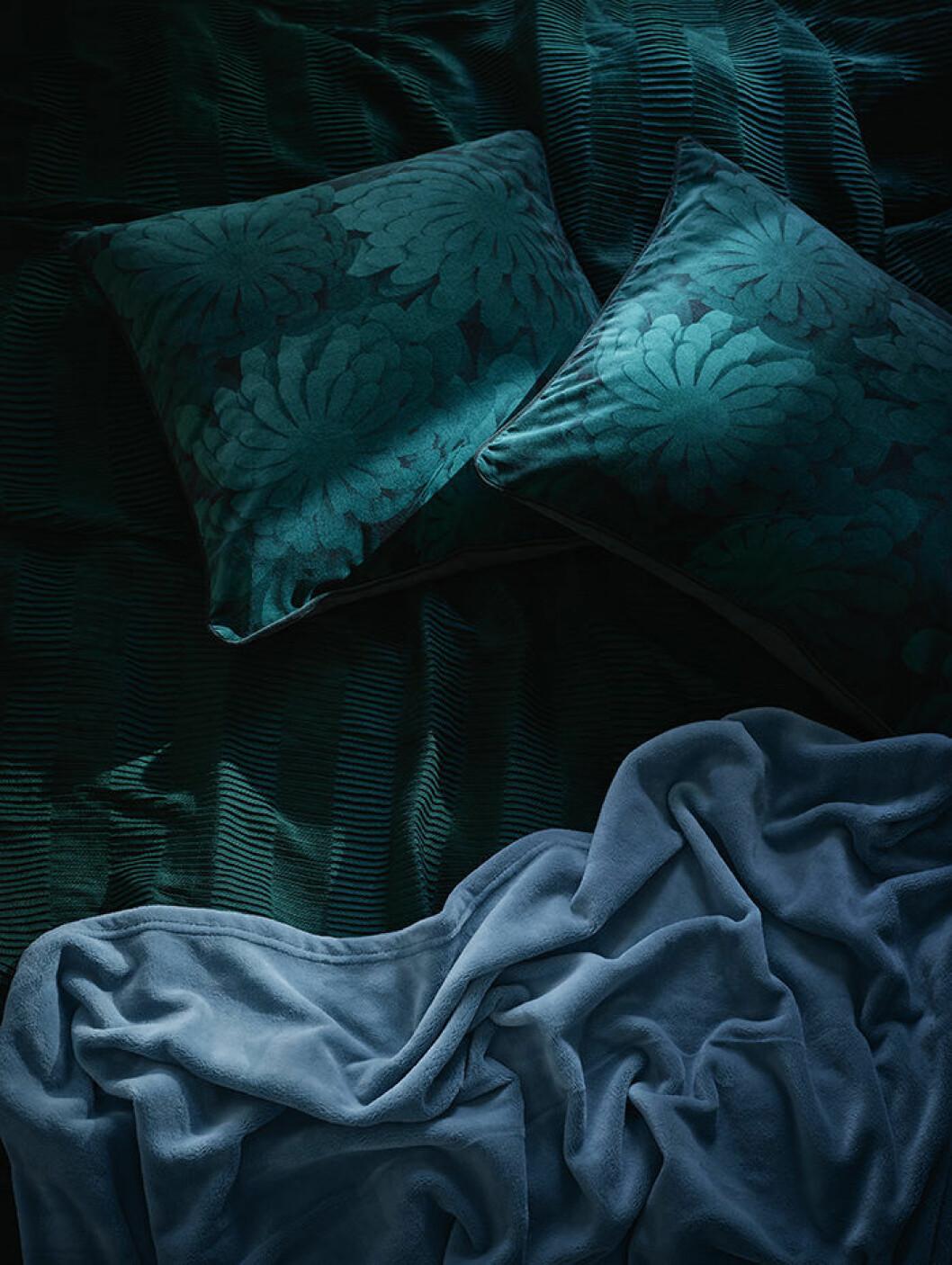 Kuddar formgivna av Bea Szenfeld för Ikea
