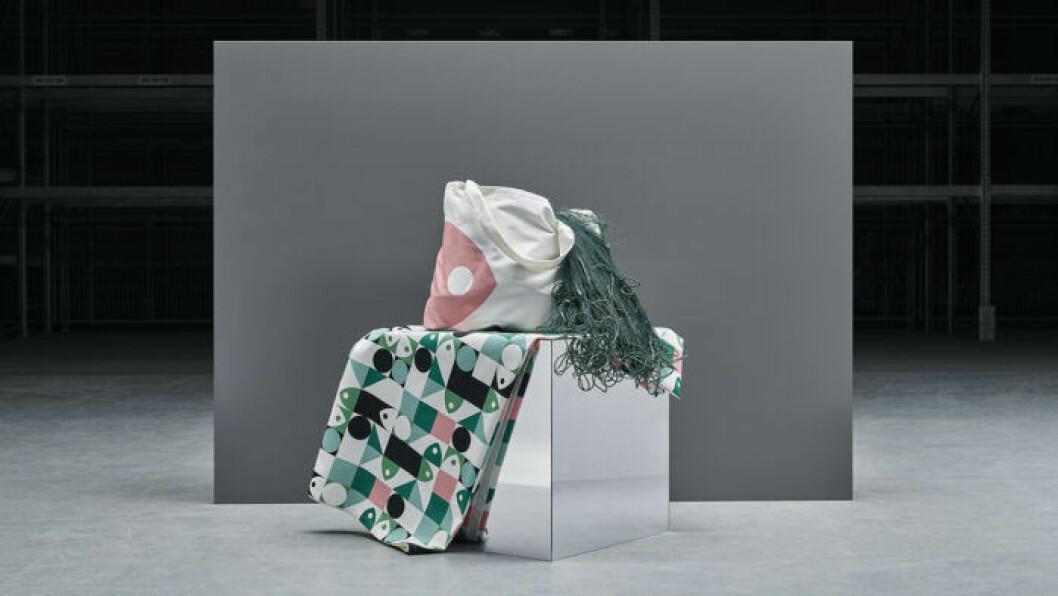 Ikea musselblomma – textilier av plast från havet