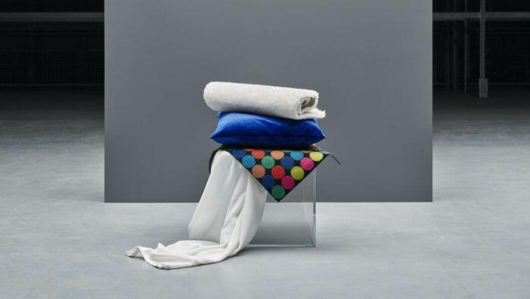 Ikeas textilier av återvunnen polyester