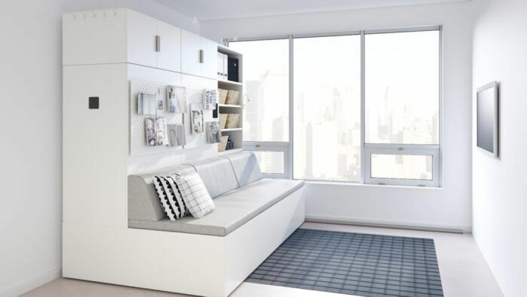 Ikea rognan är en kommande kollektion med robotmöbler