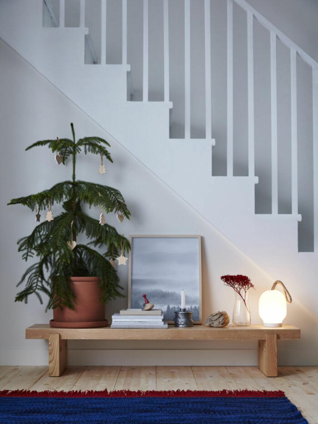 Bänk från Ikeas kollektion Värmer, julen 2019