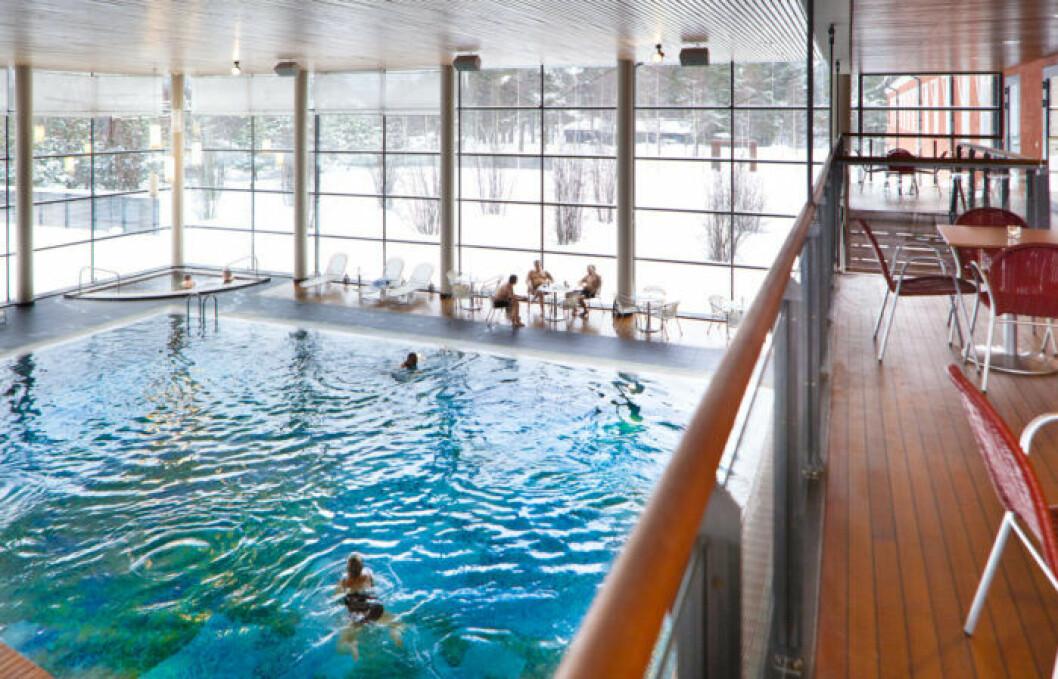 Poolen Baltiska Havet IKSU Spa Umeå
