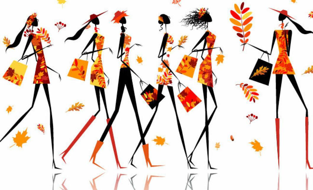 illustration med kvinnor på promenad