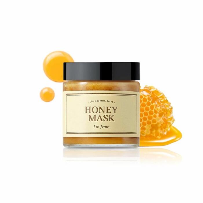 ansiktsmask med honung