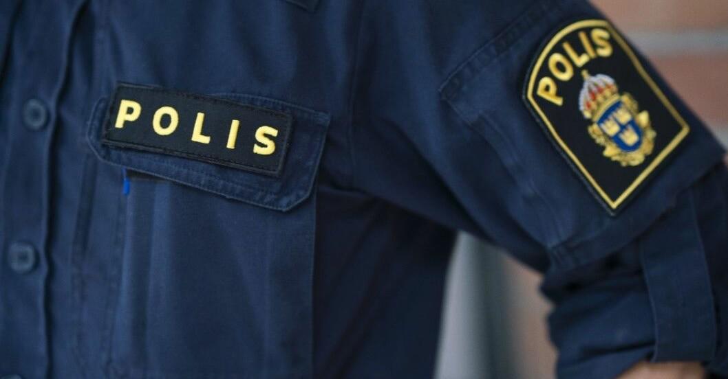 Bild på polisuniform