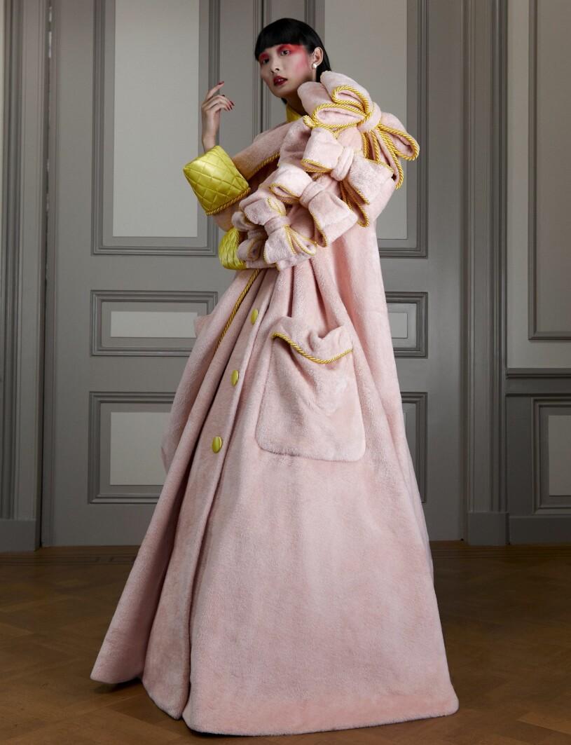 rosa morgonrock