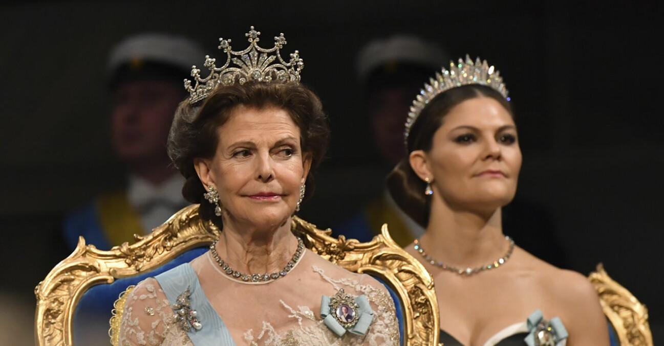Drottning Victoria och kronprinsessan Victoria