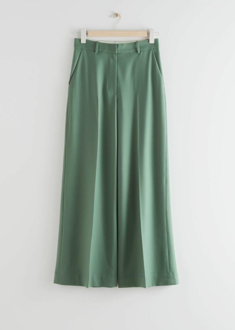 gröna kostymbyxor
