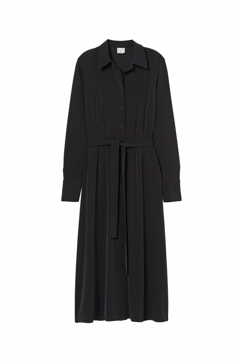 svart skjortklänning Giuliva Heritage x H&M