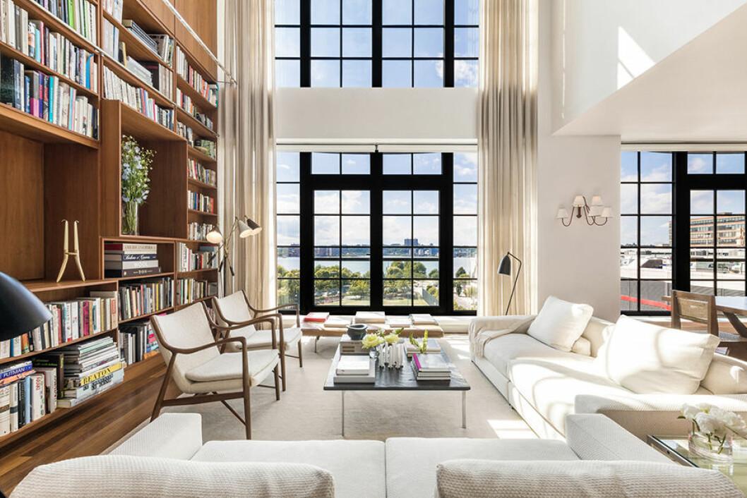 New York etage Engelbert fönster utsikt