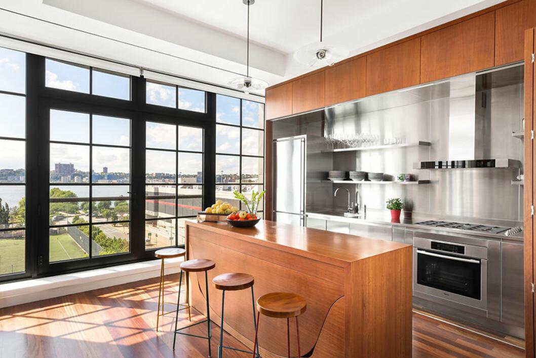 New York etage Engelbert kök utsikt 2