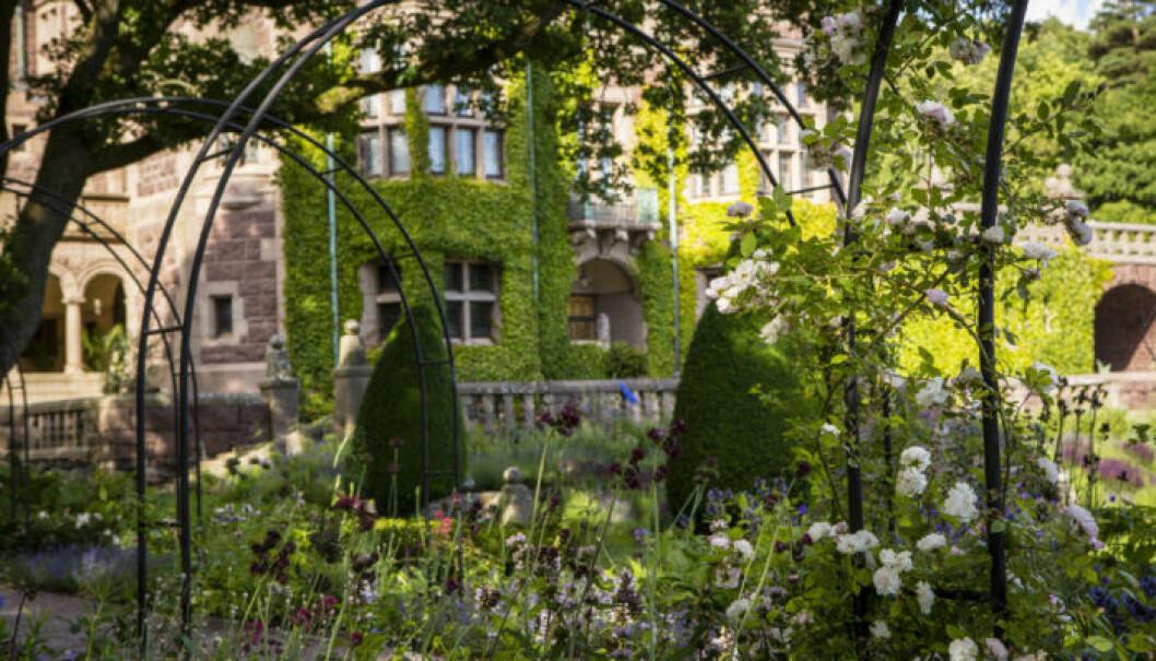 Tjolöholms slottsträdgård. Foto: Will Rose