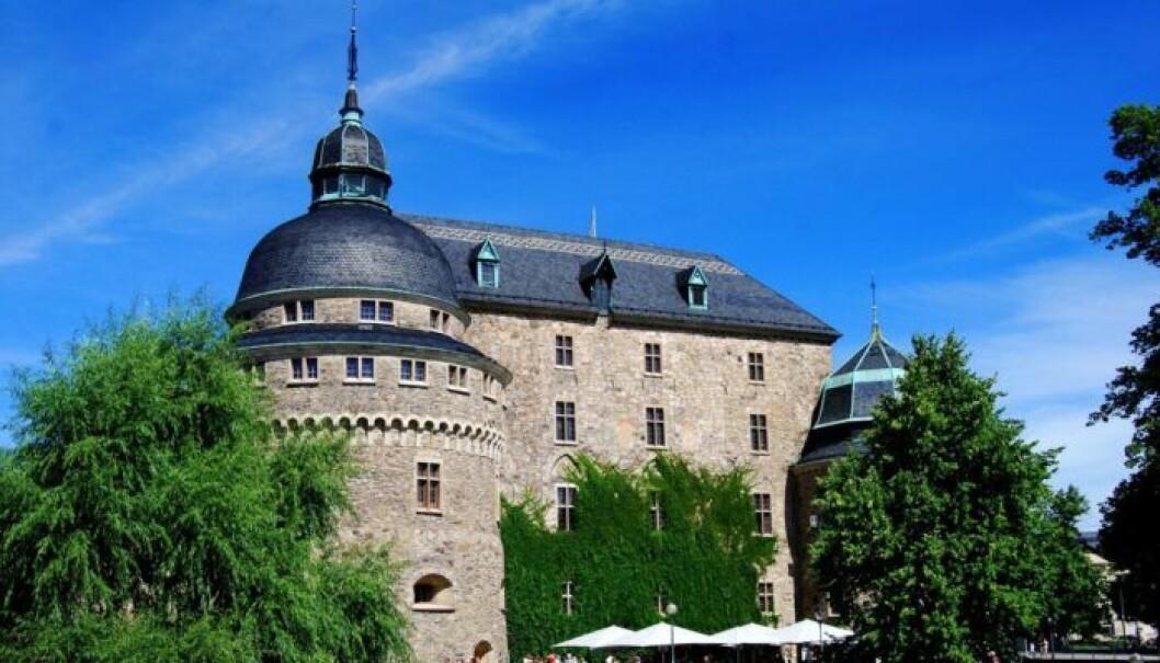 Örebro slott. Foto: Björn Fransson