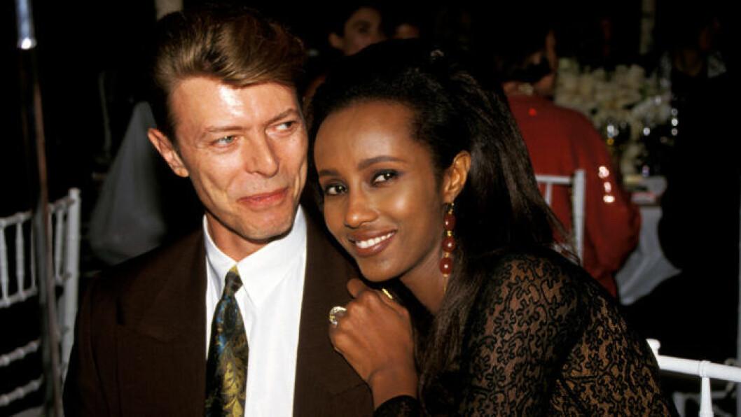 Iman och David Bowie