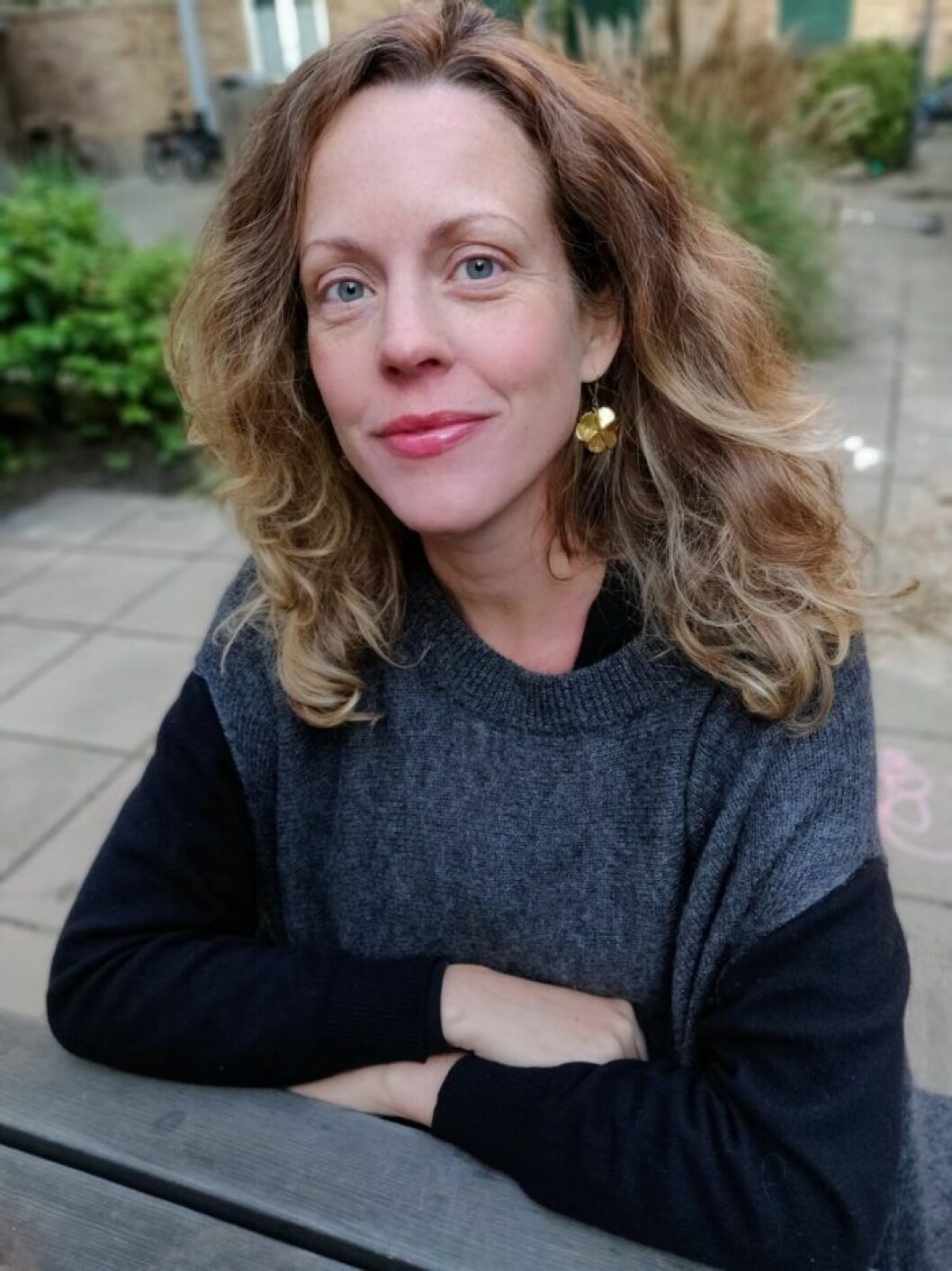 Författaren och journalisten Johanna Darnéus.