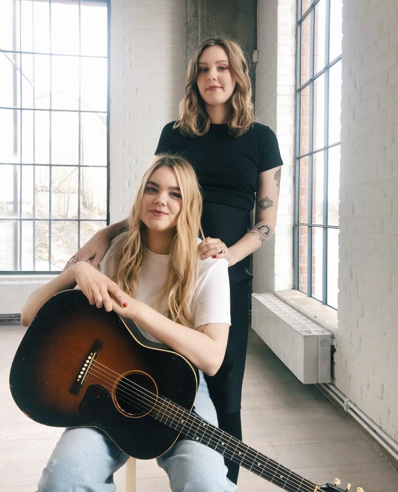 Klara och Johanna Söderberg