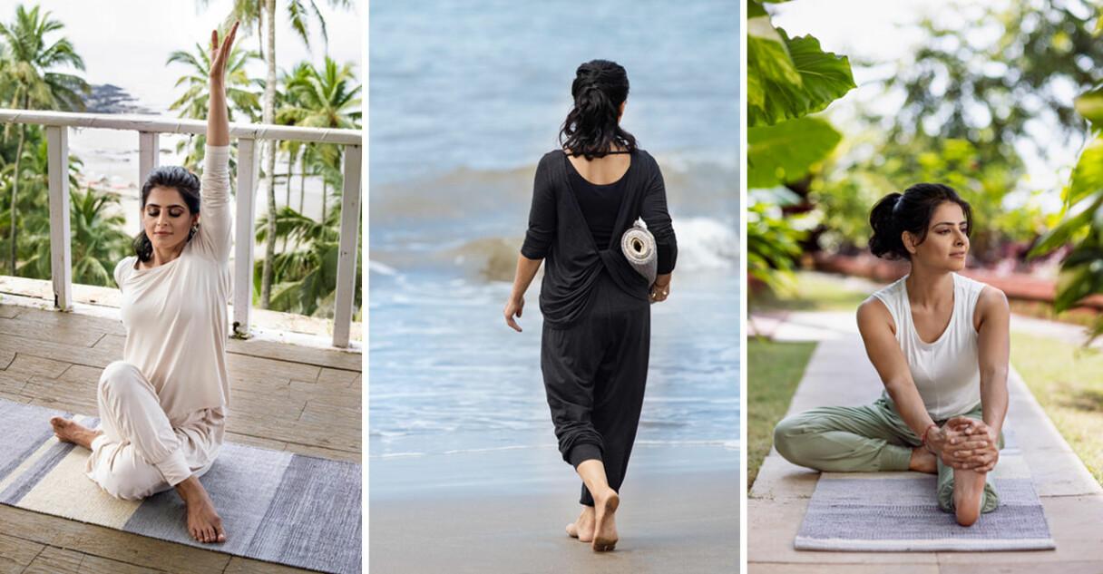 Indiska the yoga collection