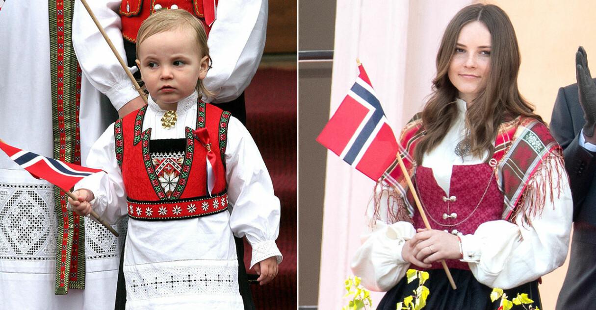 prinsessan ingrid-alexandra i norsk folkdräkt