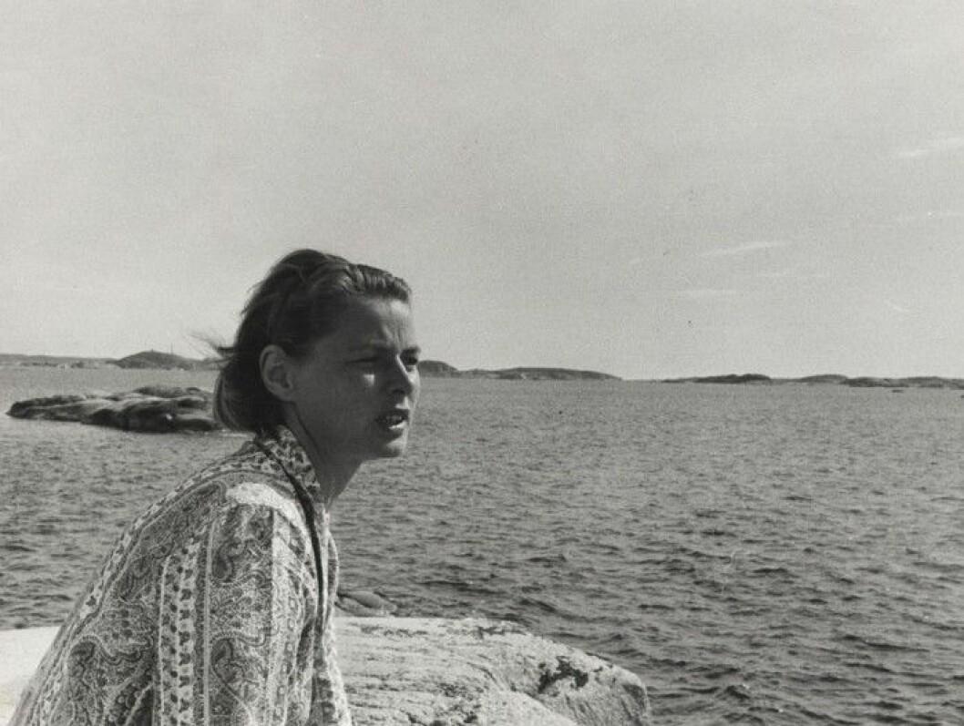 På västkusten kunde Ingrid Bergman koppla av och glömma Hollywood. När hon dog 1982 spreds hennes aska utanför Dannholmen.