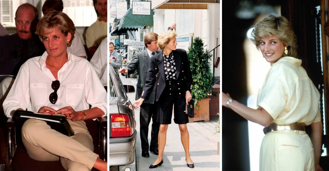 Inspireras av Lady Dianas snygga stil