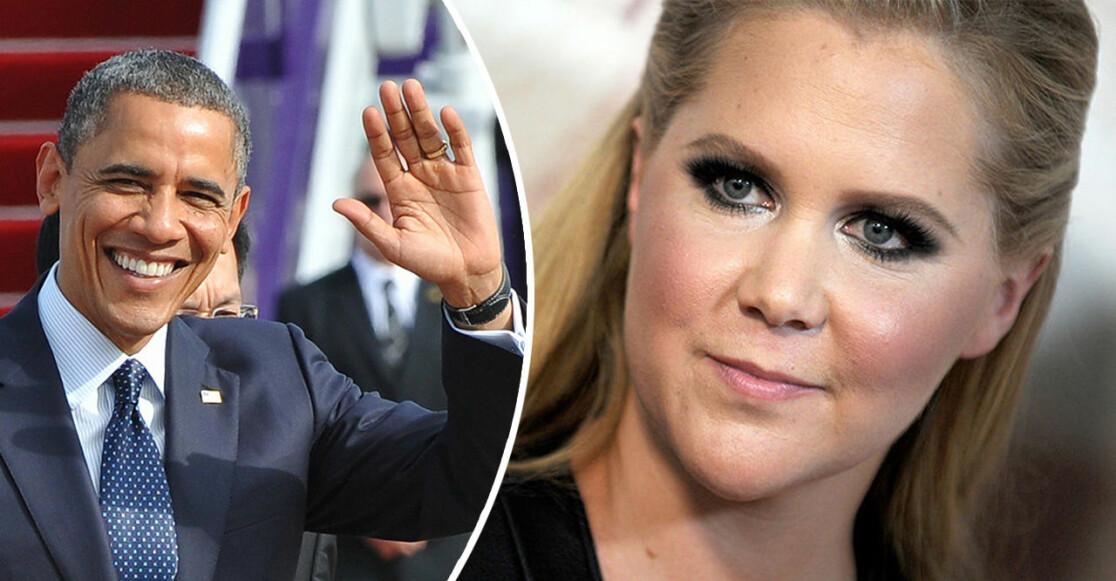 Obama och Amy Schumer