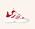 Vita sneakers med röda och rosa detaljer. Sneakers från Isabel Marant.