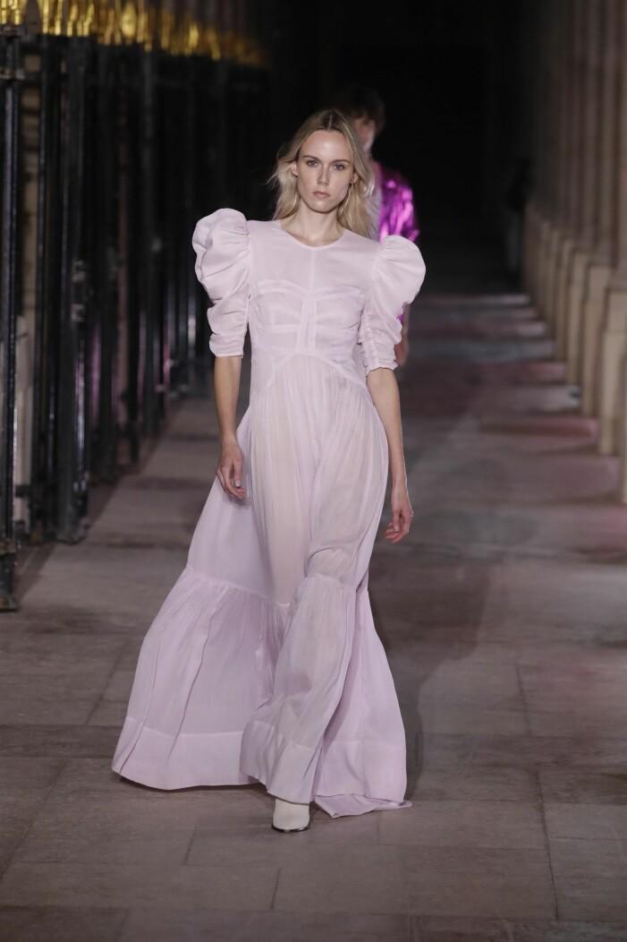 Isabel Marant ss 21 rosa klänning