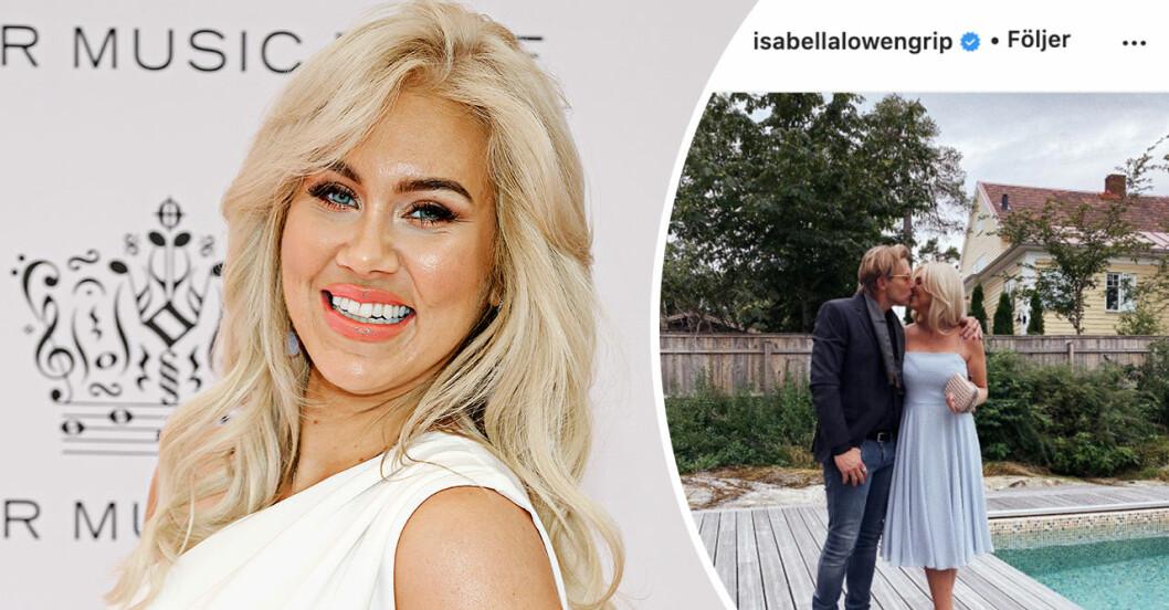 Isabella Löwengrip flyttar ihop med pojkvännen Paul Sundvik