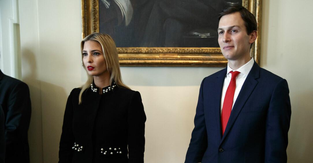Ivanka Trump och maken Jared Kuschner.