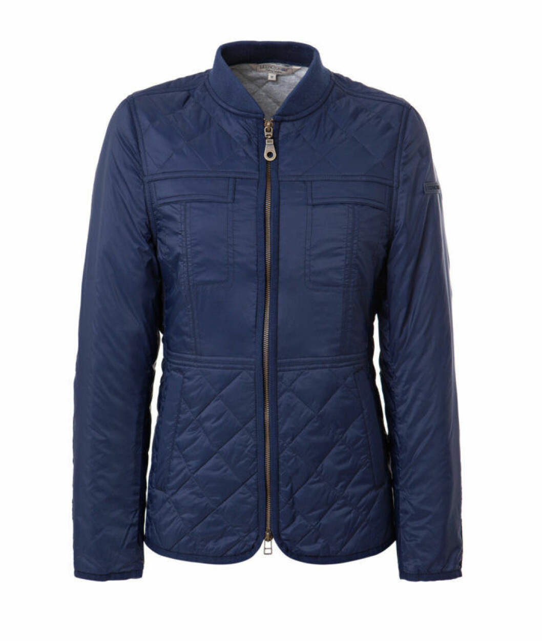 IVY QUILTED JACKET BLUE