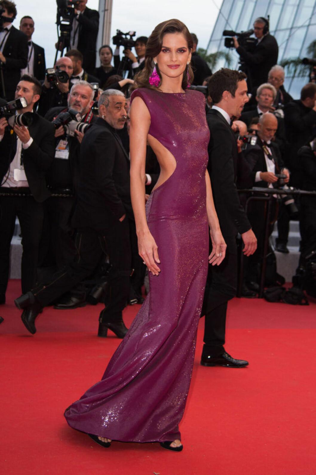 Izabel Goulart på filmfestivalen i Cannes 2019