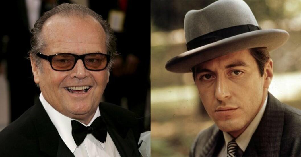 Jack Nicholson – Michael Corleone i The Godfather