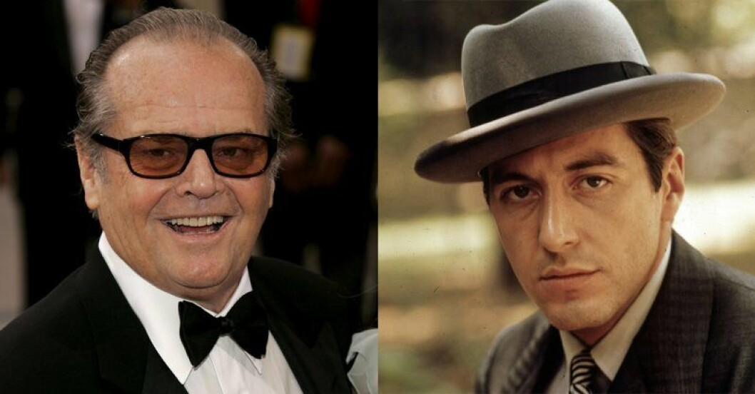 Jack Nicholson – Michael Corleone i The Godfather